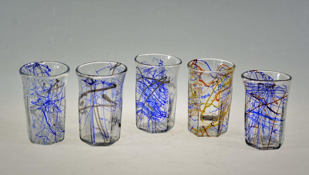 Klaasid, h 10 cm